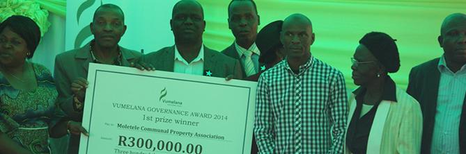Moletele CPA 1st prize winners 2014