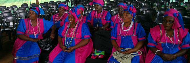 Maitjene Community Development Trust Community members